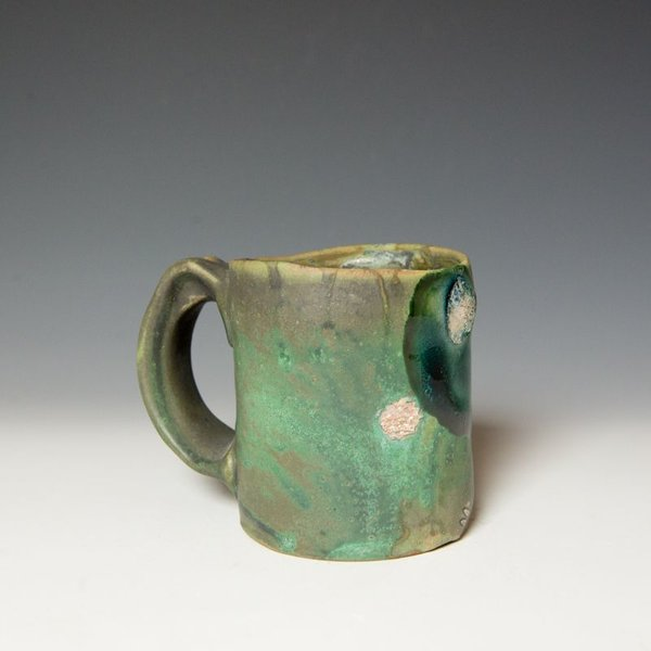 Shadow May Shadow May, Mug, stoneware, glaze, 3.5 x 5 x 3.5""