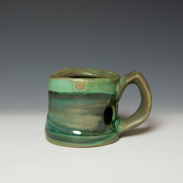 Shadow May Shadow May, Mug, stoneware, glaze, 3.25 x 5 x 3.5""