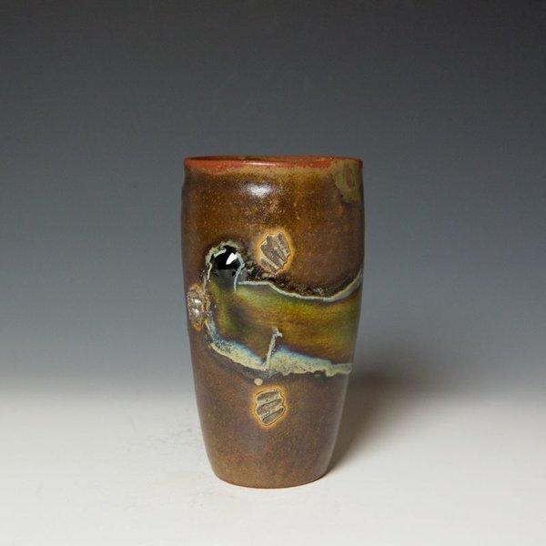 "Shadow May Shadow May, Tumbler, stoneware, glaze, 6 x 3.5"""
