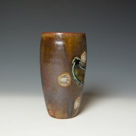 Shadow May Shadow May, Tumbler, stoneware, glaze, 6.25 x 3.25""
