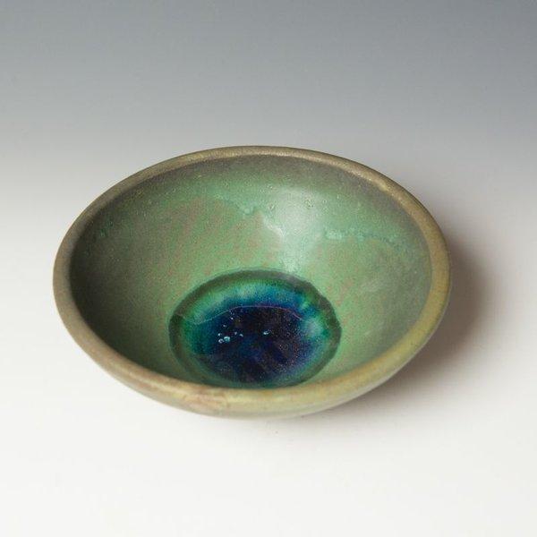 "Shadow May Shadow May, Cereal Bowl, stoneware, glaze, 3 x 7.75"""