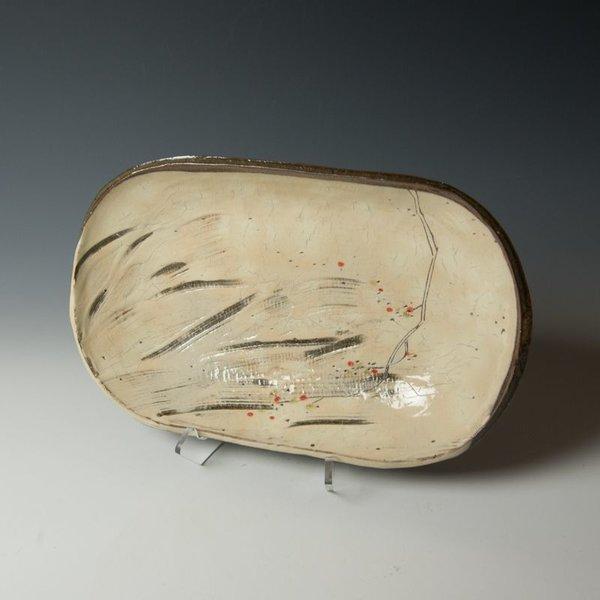 Minsoo Yuh Minsoo Yuh, Serving Platter, stoneware