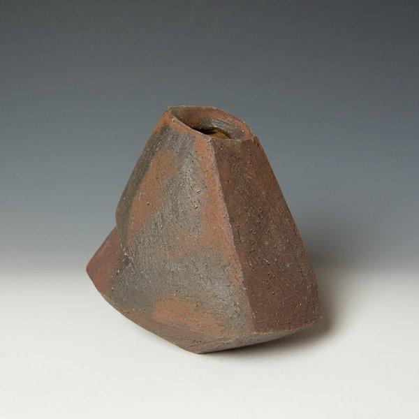 "Josh Copus Josh Copus, Stone Vessel Series, woo-dfired wild harvested clay,  x  x """