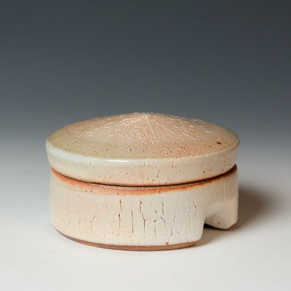 Nancy Green Nancy Green, Round Salt Cellar, soda-fired stoneware