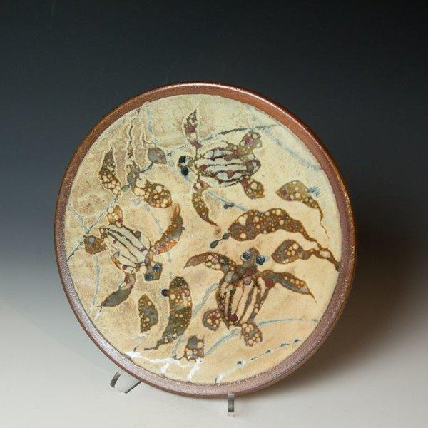 Ken Sedberry, Turtle Dinner Plate, stoneware