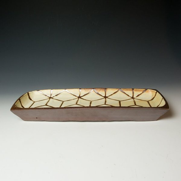 Courtney Martin Courtney Martin, Rectangle Server, stoneware