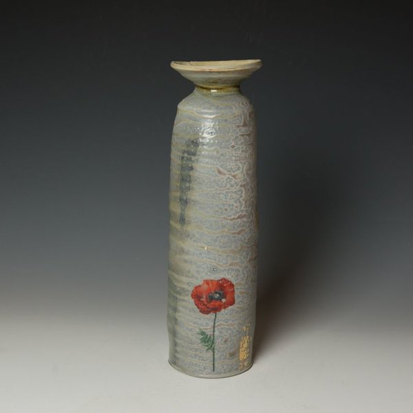 "Justin Rothshank Justin Rothshank, Tall Vase, 13.75 x 4"" dia"