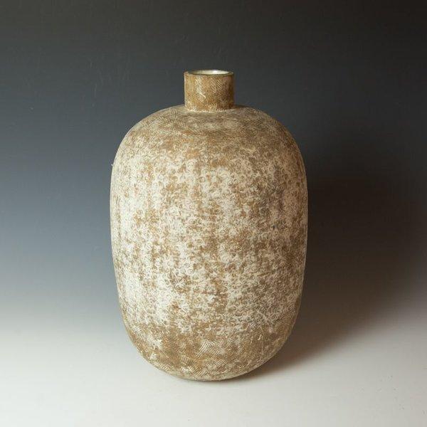 """Claude Conover, Chimalpa, stoneware, 17.25 x 10.5"""""""