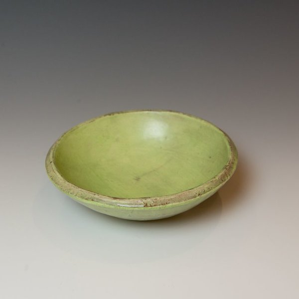 "Joe Pintz Joe Pintz, Small Round Bowl, handbuilt earthenware, 2.25 x 6.25"" dia"