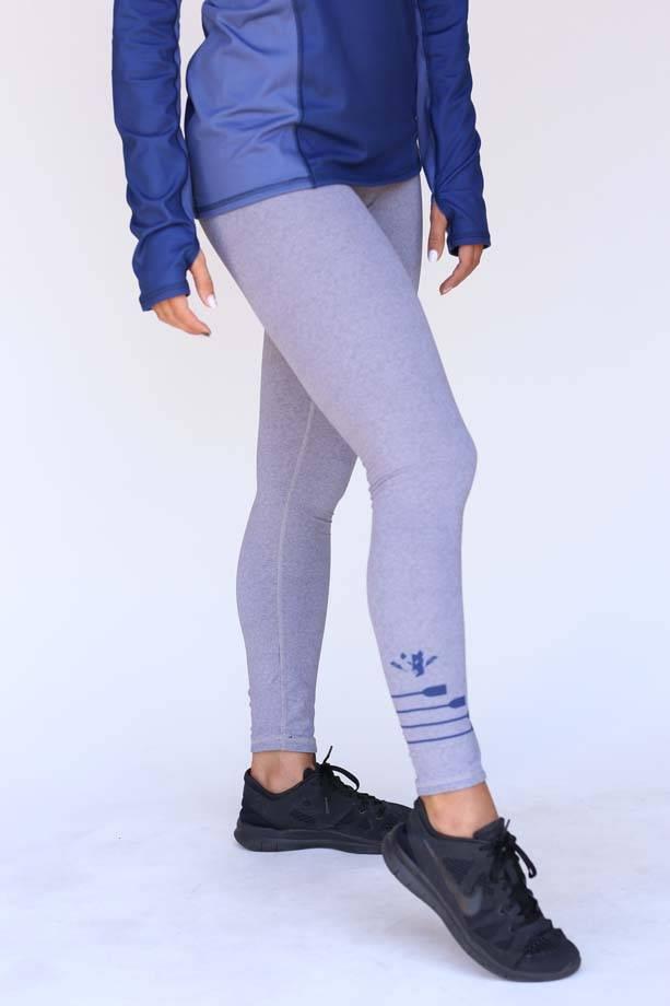 USR Women's Reversible Legging Dark/Light Grey