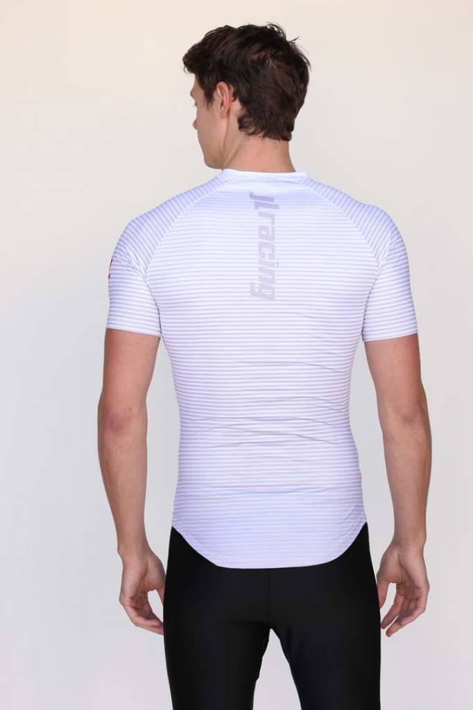 USR Men's SS Striped Tech Shirt