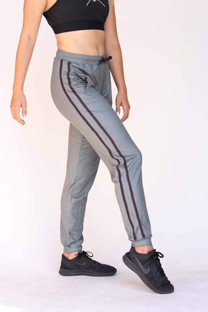 USRowing Women's Luxe Warmup Pants Green