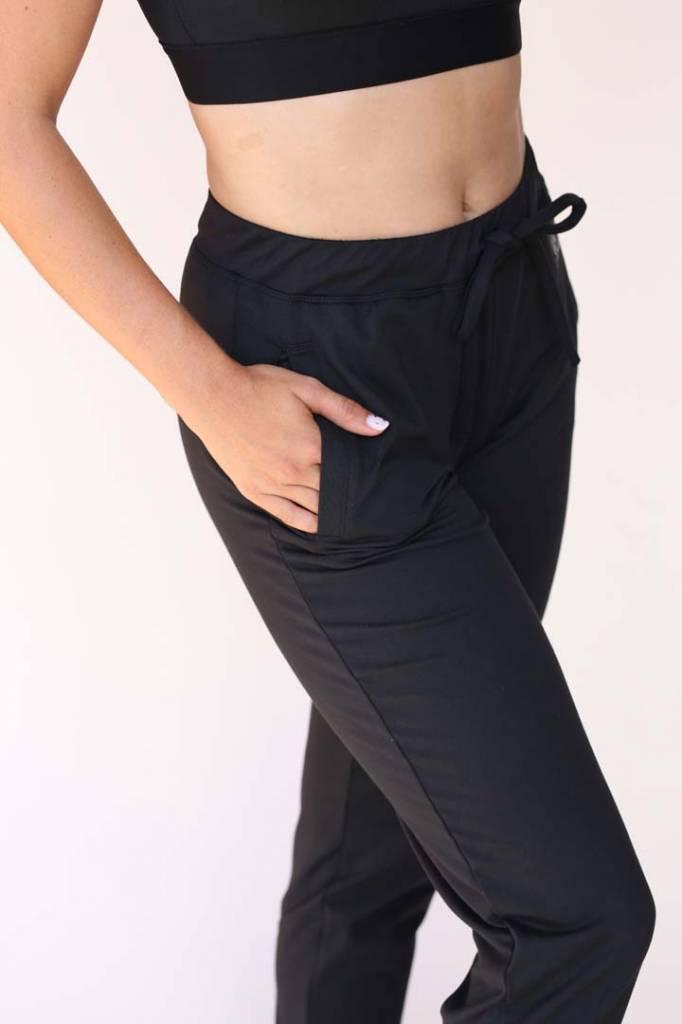 USRowing Women's Luxe Warmup Pants Black