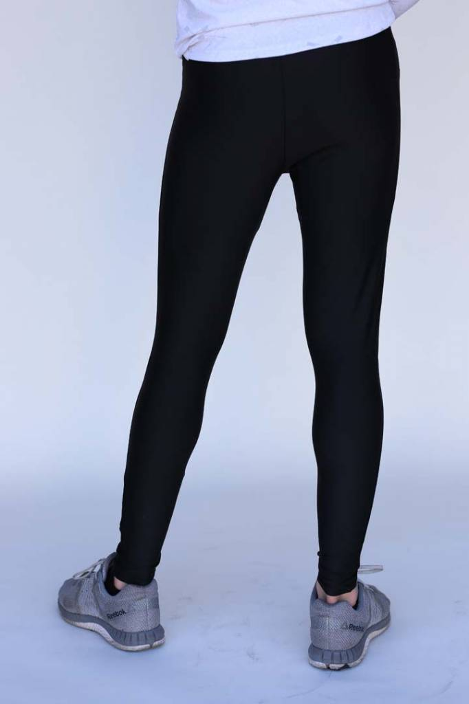 USRowing  Black Tights with Logo