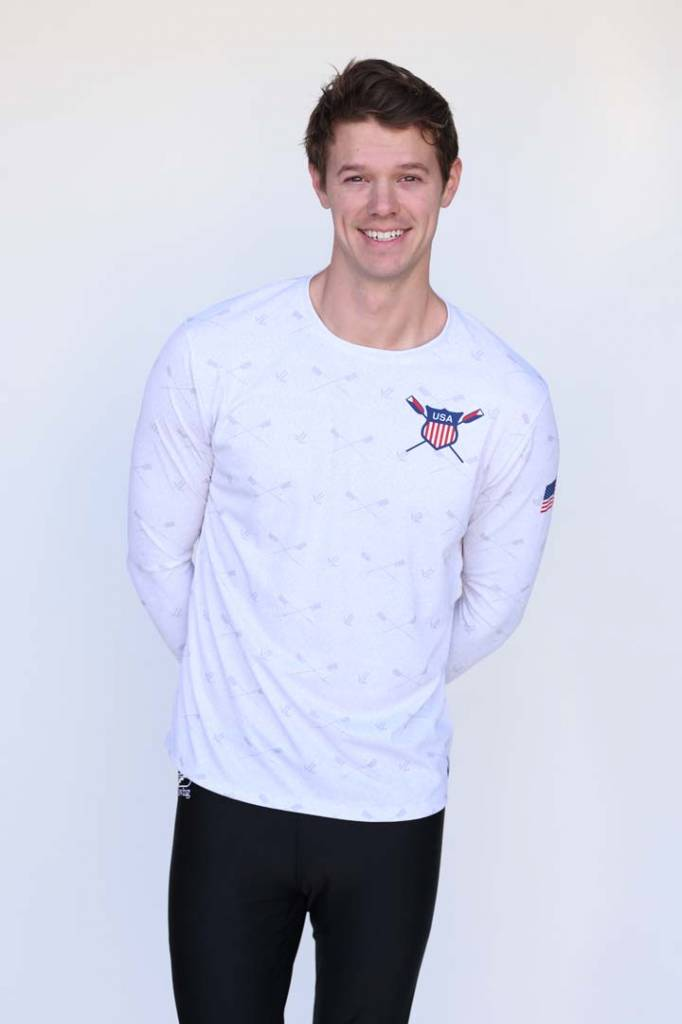 USR Men's Long Sleeve Loose-fit Shirt