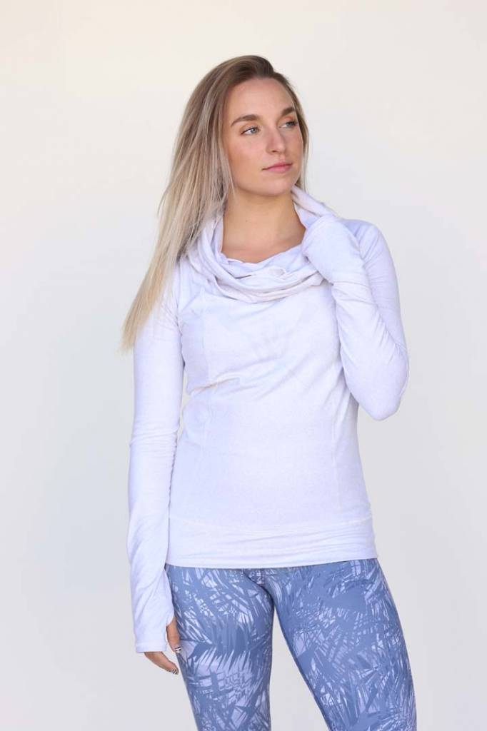Wild Women's Grey Cowl Neck