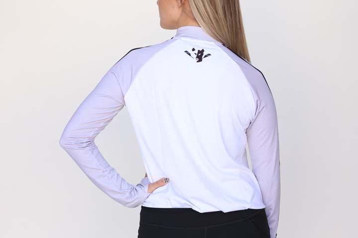 Wild Women's Grey/White Crop Jacket