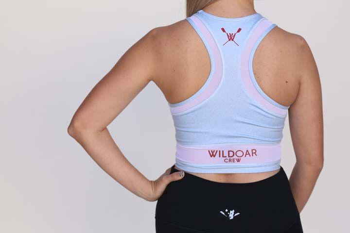 Wild Women's Grey Crop Bra