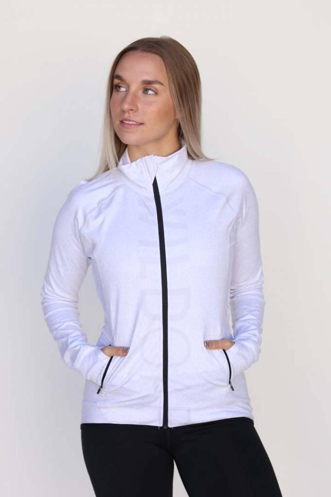 Wild Women's Grey Full Zip Jacket
