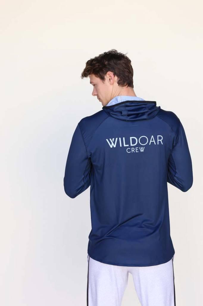 Wild Men's Stripe Logo Active Hoodie