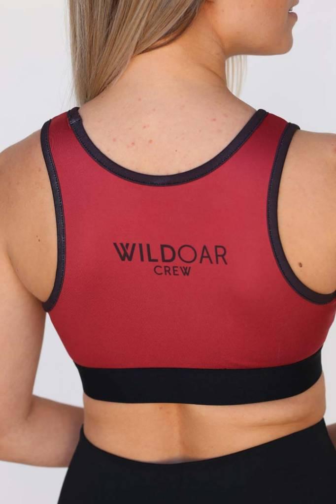 Wild Women's Reflective Logo Sports Bra