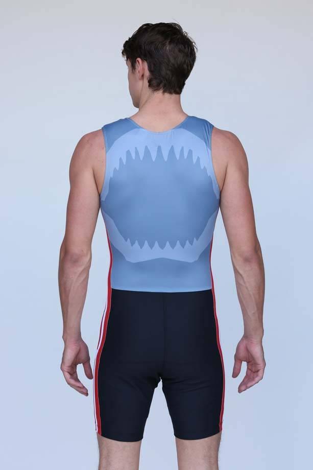 Hudson Men's Shark Unisuit