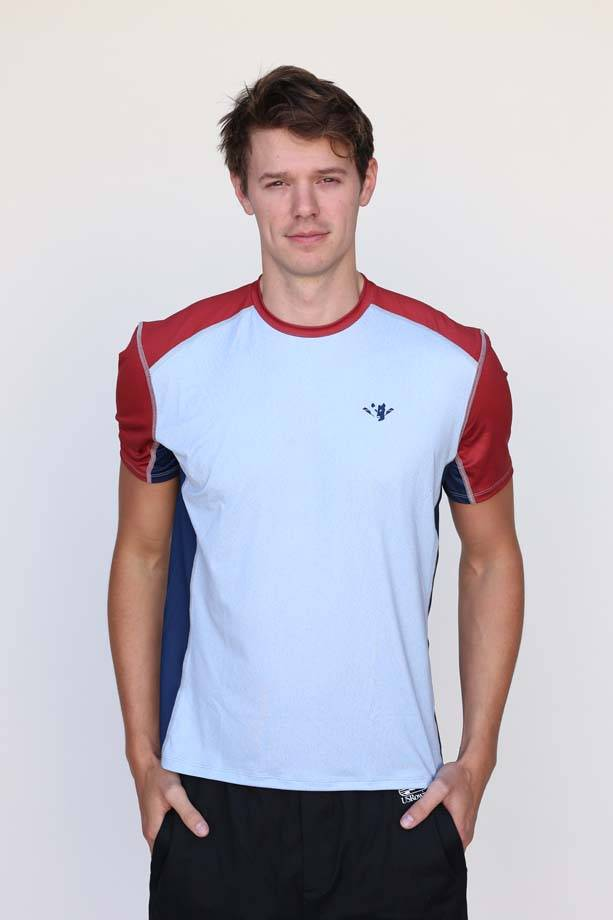 Wild Men's Colorblock Performance Tee