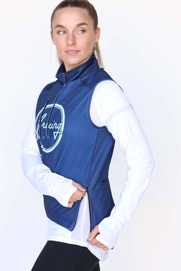 Women's Navy Logo Sequel Turtleshell