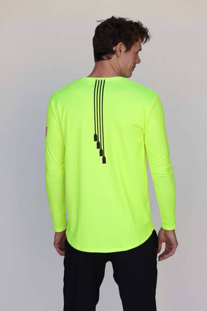 USRowing  Men's High Viz LS