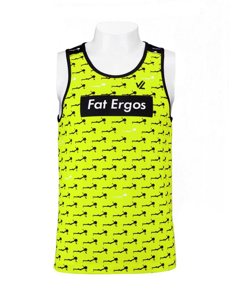 67a709e81a431 Fat Ergos   Men s Singlet  Hi Viz Yellow Repeat - JL Design ...