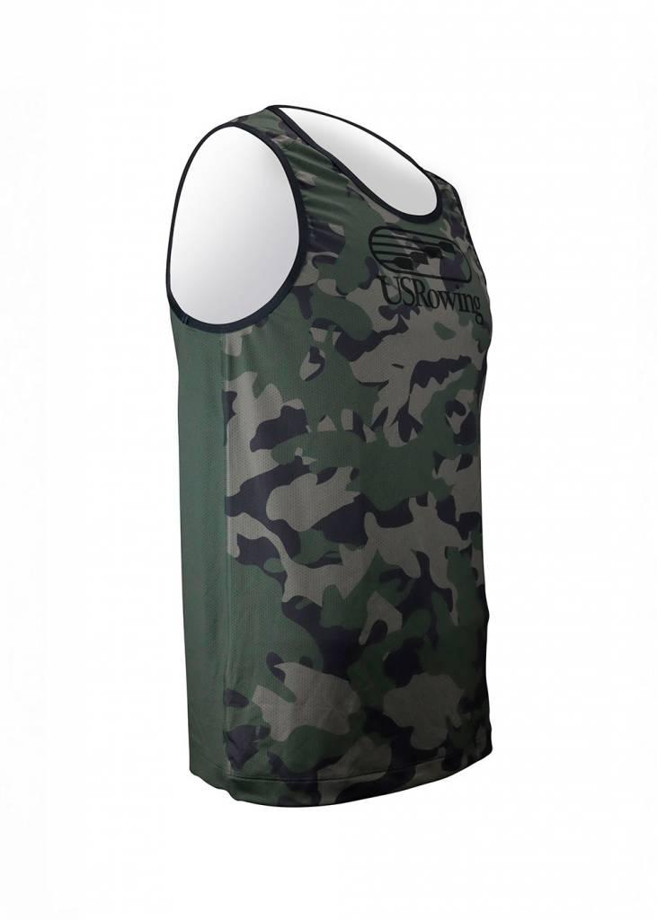 USR Men's Performance Tank Camo