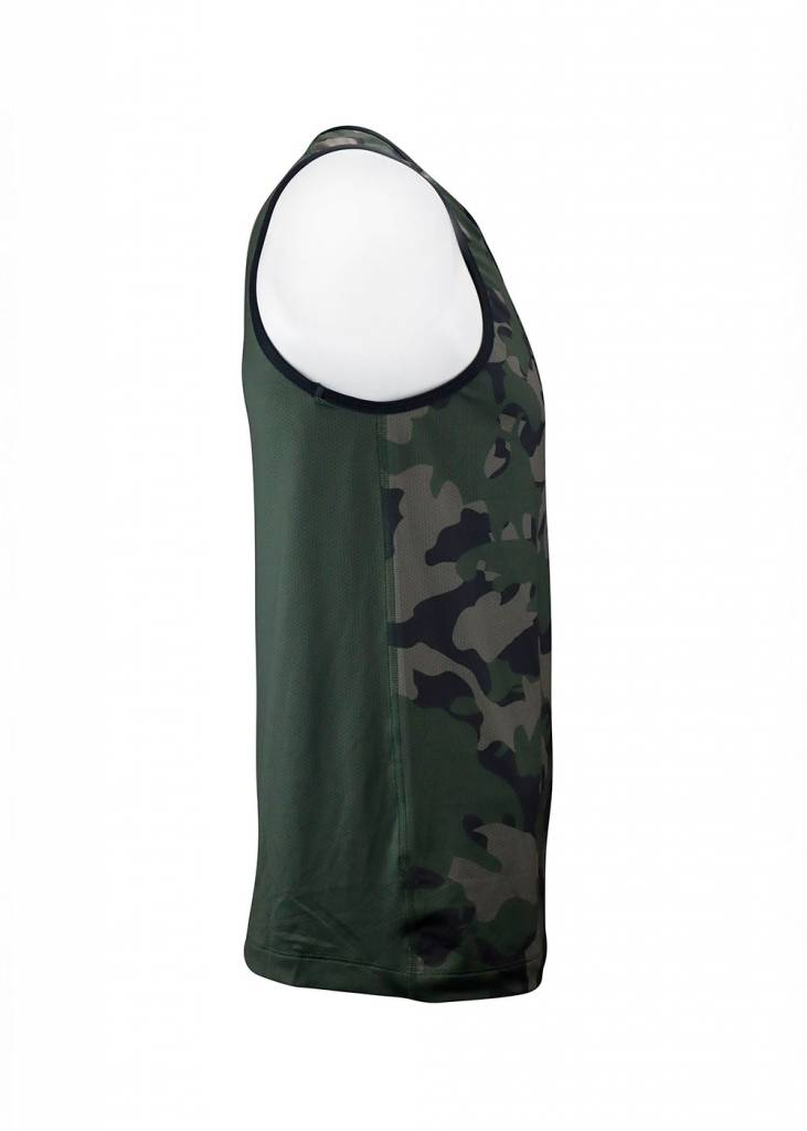 USRowing  Men's Performance Tank Camo