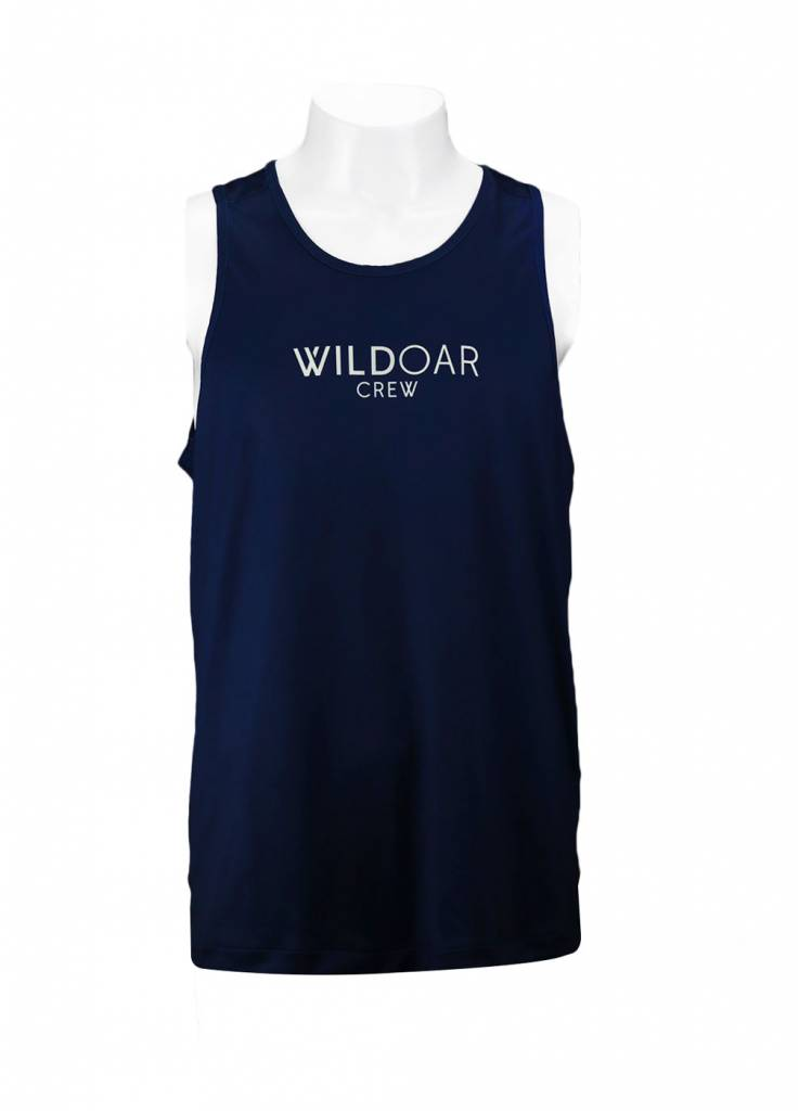 Wild Wild Men's Performance Tank Navy