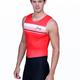 Men's Retro Stripe Uni Red