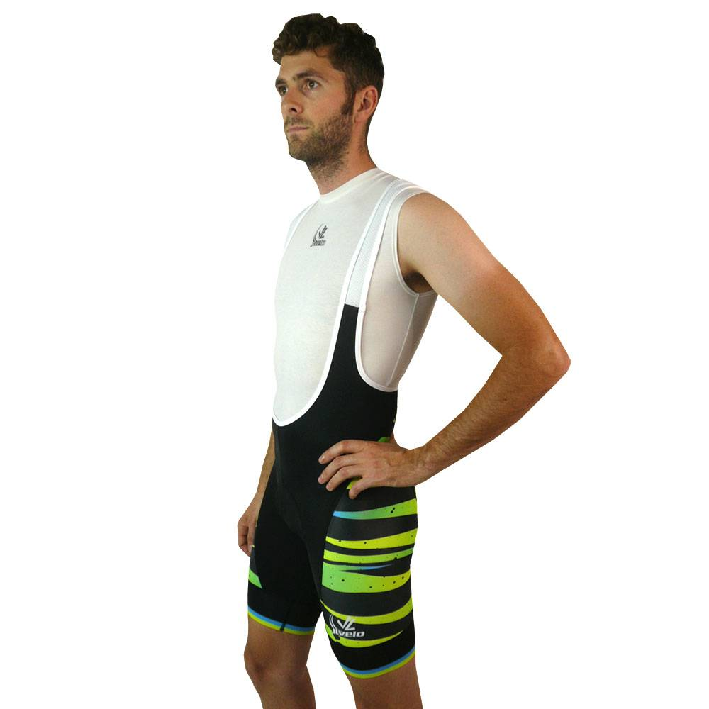 Men's SDP Bibshorts : Bright Lights Collection