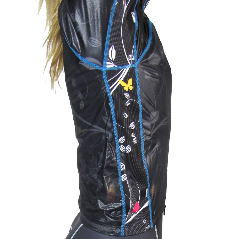 Women's Invisible Rain Jacket : Birds Collection : Smokey