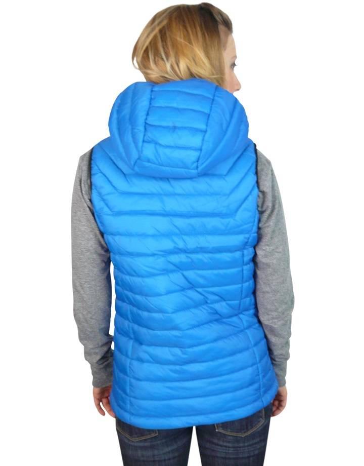 Women's Gravity Puffy Vest : Blue