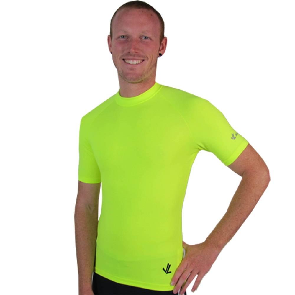 Short Sleeve Drywick Tech shirt : Hi Viz