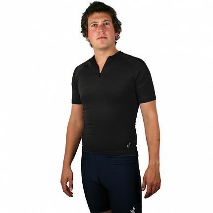 Short Sleeve Bamboo Tech shirt : Black