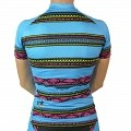 Women's Team Stretch Jersey : Tribal Collection : Blue