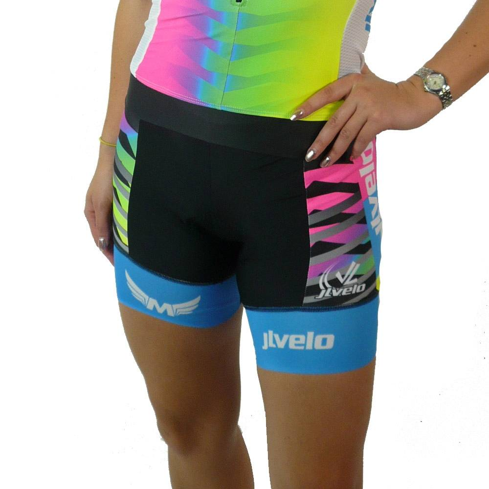 Women's Team Ringer Bibshorts : Mackenzie Madison Collection