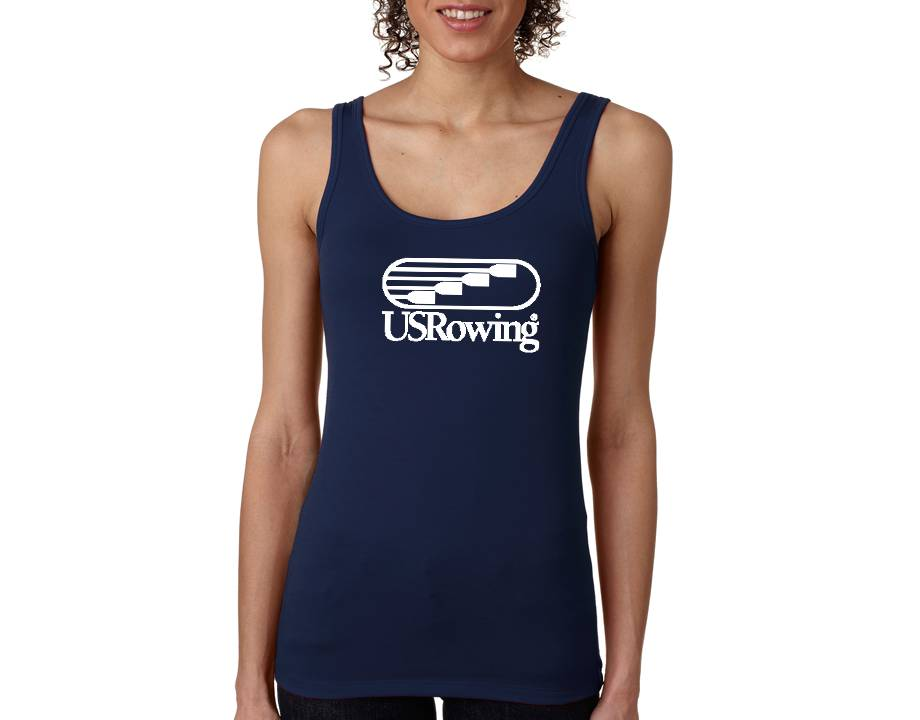 USRowing Women's Tank Navy