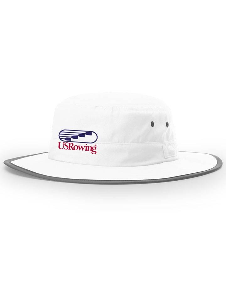 USRowing Bucket Hat White