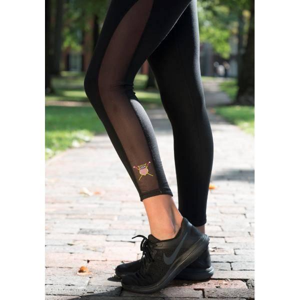 USRowing Women's Breathe Legging with Crest