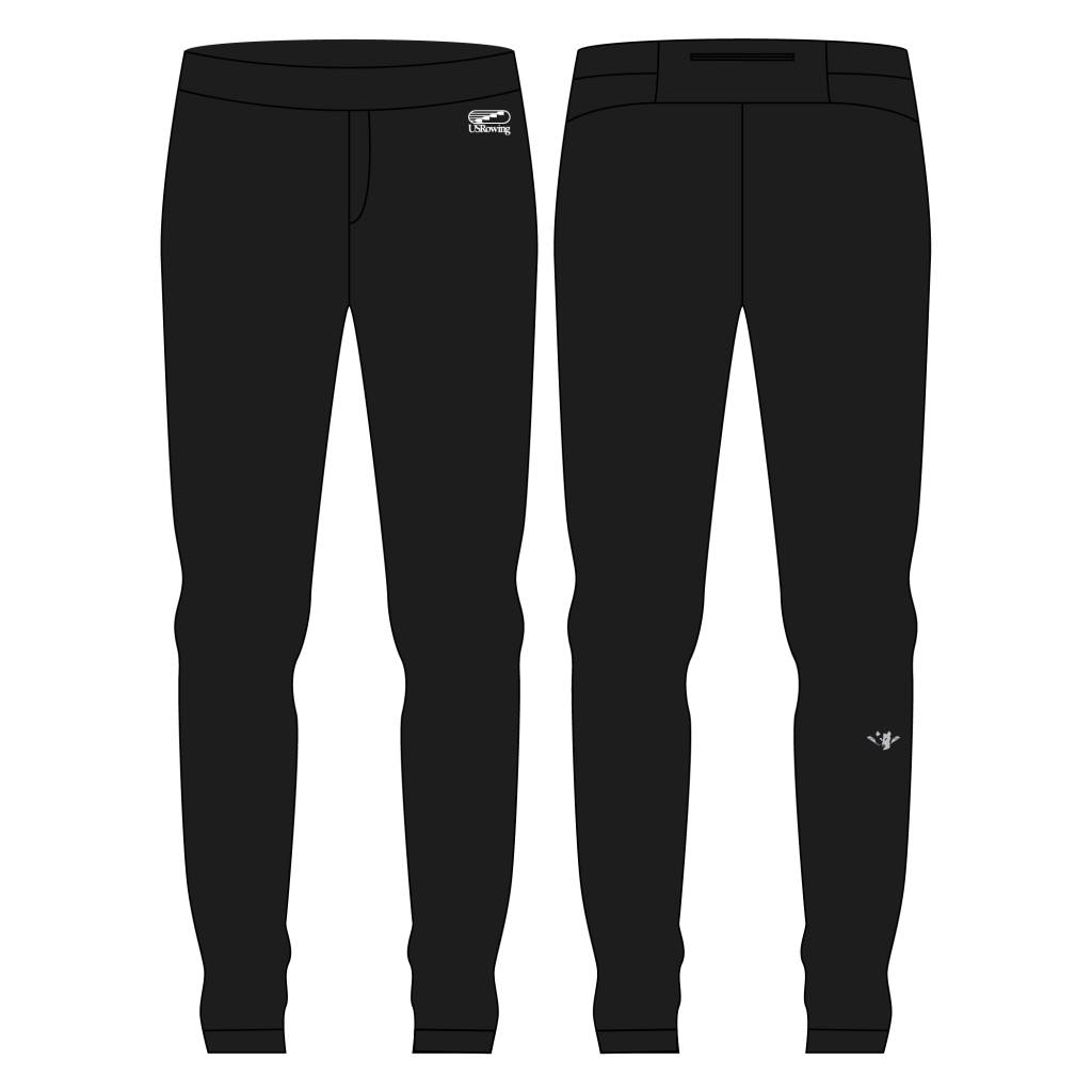 USR Men's Scrunch Sweats Black