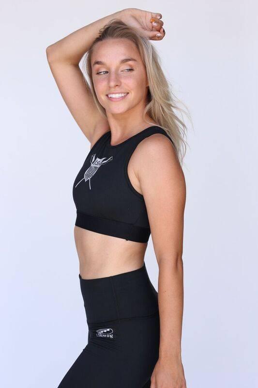 USR Women's Sports Bra Crest