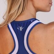 USRowing Women's Performance Mesh Crop Stars
