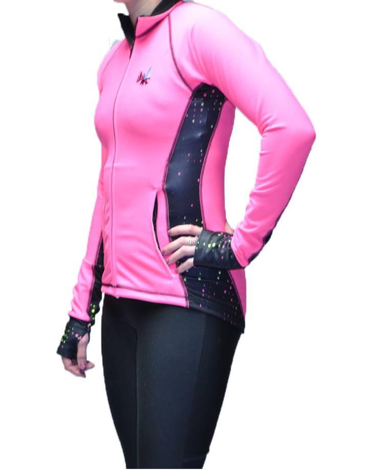 River Jacket : Flo Pink