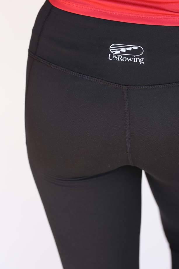USRowing Women's Crop Mesh Leggings