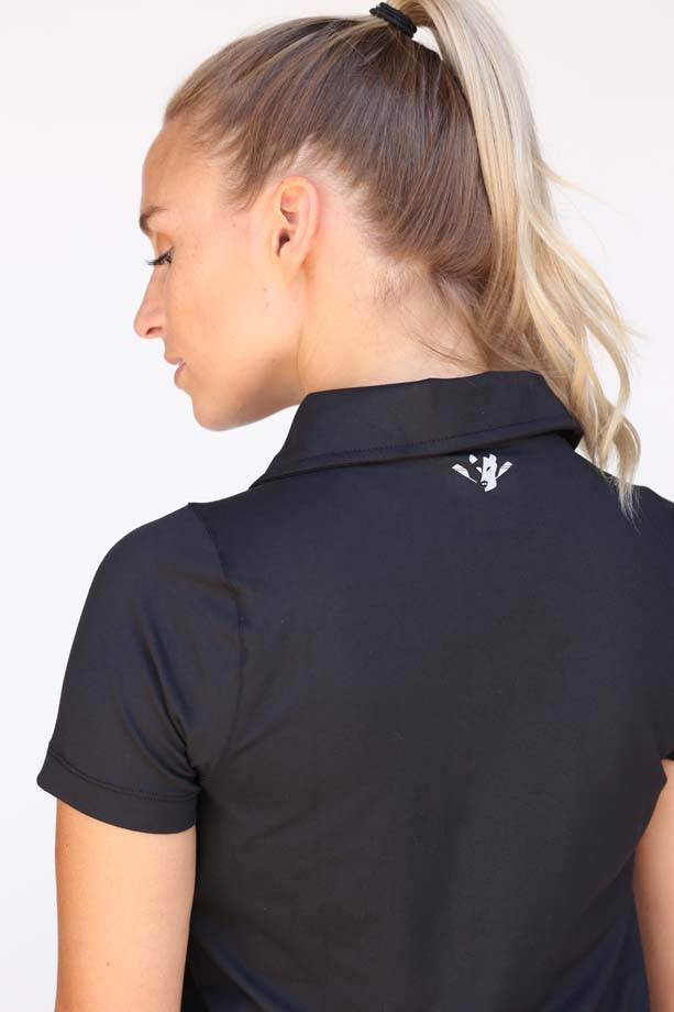USR Women's Polo Black